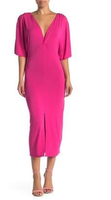 Couture Go Draped Sleeve Dress