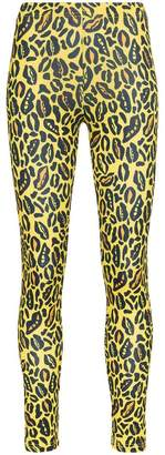 Charm's leopard print skinny leggings
