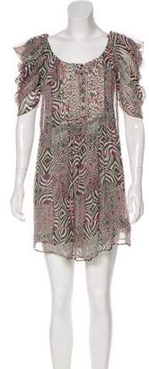 Paul & Joe Printed Silk Dress