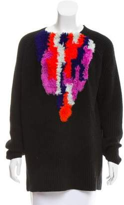 Thakoon Wool Rib Knit Sweater