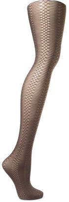 Wolford Jennifer Glitter Net Tights - Silver