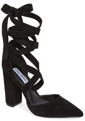 Women's Steve Madden Bryony Lace-Up Pump $98.95 thestylecure.com