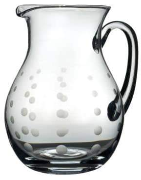Mikasa Cheers Round Glass Pitcher