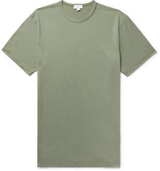 Sunspel Pima Cotton-Jersey T-Shirt
