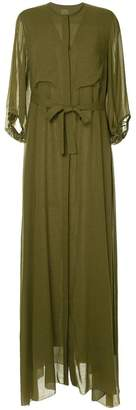 Maison Rabih Kayrouz tie waist maxi dress