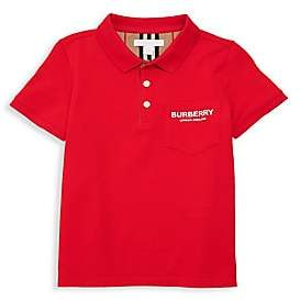 Burberry Little Boy's & Boy's Wesley Logo Polo Shirt