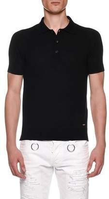 DSQUARED2 Men's Knit Polo Shirt