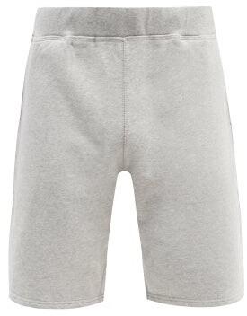 Sunspel Mid Rise Cotton Blend Shorts - Mens - Grey