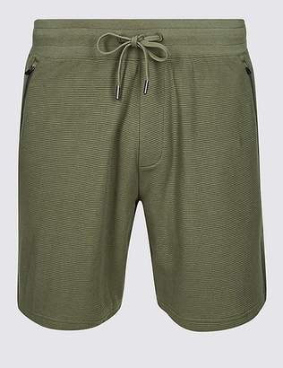 Marks and Spencer Pure Cotton Textured Shorts