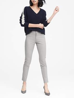 Banana Republic Petite Sloan Skinny-Fit Brushed Bi-Stretch Ankle Pant