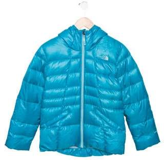 The North Face Girls' Hooded Puffer Jacket
