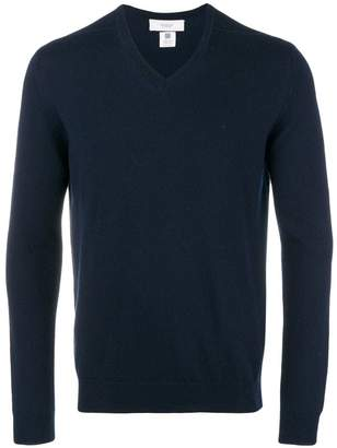 Pringle Men's Classic V Neck Cashmere Jumper In Ink