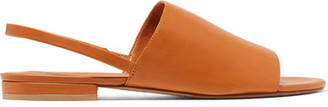 Vince - Dawson Leather Slingback Sandals - Tan $250 thestylecure.com