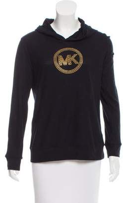 MICHAEL Michael Kors Sequined Hooded Sweater