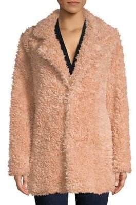Design Lab Faux-Fur Teddy Coat