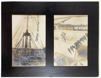 One Kings Lane Vintage Photographs of Birds in a Hurricane - Set of 2 - Artifax Antiques Art