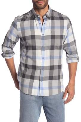 Nordstrom Check Print Trim Fit Shirt
