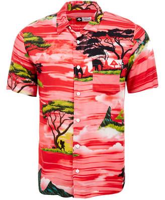 Lrg Men's Sunsetter Graphic-Print Pocket Shirt