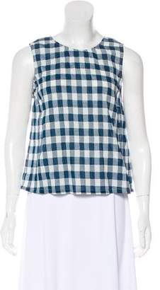 Current/Elliott Gingham Sleeveless Top w/ Tags