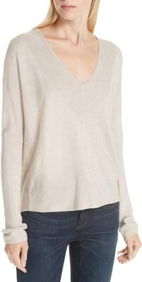 Eileen Fisher Boxy Tencel(R) Lyocell & Silk Sweater
