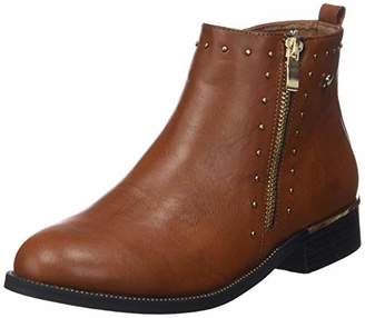 Xti Women's 48619 Ankle Boots, Brown Camel