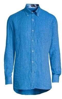 Paul & Shark Fisherman Woven Button-Down Shirt