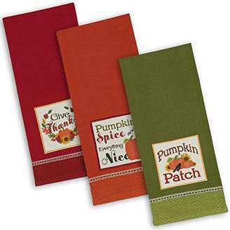 DII Cotton Thanksgiving Holiday Dish Towels