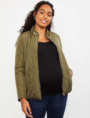 Motherhood Maternity Quilted Puffer Maternity Coat