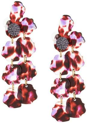 Lele Sadoughi crystal embellished drop earrings