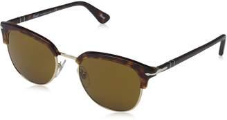 Persol Men's PO3105S-24/33-51 Round Sunglasses