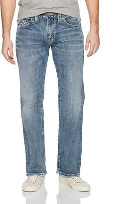 Silver Jeans Co. Men's Zac Relaxed Fit Straight Leg