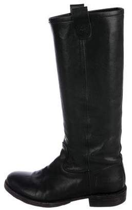 Fiorentini+Baker Leather Flat Boots