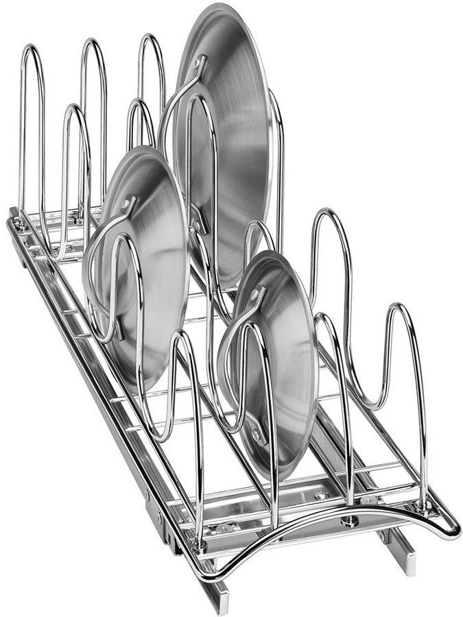 Lynk Metal Roll Out Lid/Tray Organizer