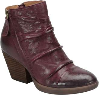 Sofft Leather Ankle Boots - Gable