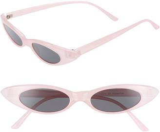 Leith 48mm Wide Cat Eye Sunglasses