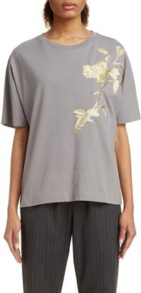 Dries Van Noten Haru Embroidered Tee