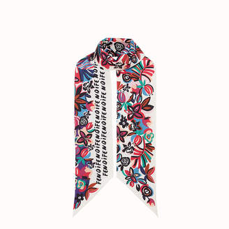 Fendi Flowers Maxi Wrappy