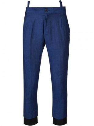 Haider Ackermann 'Ewodi' cropped trousers $765 thestylecure.com