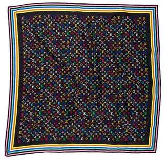 Louis Vuitton Multicolore Silk Scarf