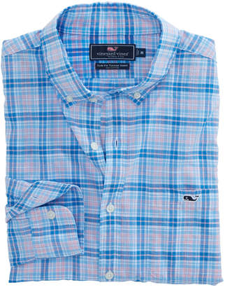 Vineyard Vines Stoney Hill Plaid Slim Tucker Shirt