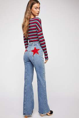 We The Free Firecracker Flare Jeans