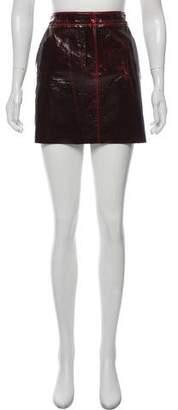 Tibi Wool Mini Skirt w/ Tags
