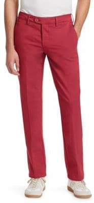 Saks Fifth Avenue COLLECTION Double-Faced Chino Trousers