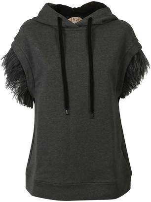 N°21 N.21 N.21 Feather Sleeves Hoodie