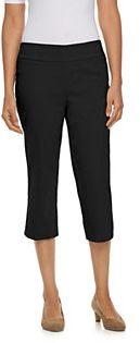 Women's Dana Buchman Pull-On Capris $44 thestylecure.com