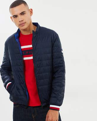Tommy Hilfiger Reversible Nylon Down Jacket