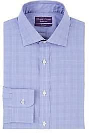 Ralph Lauren Purple Label Men's Plaid Cotton Poplin Dress Shirt - Blue