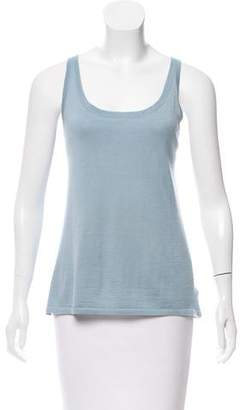Ralph Lauren Sleeveless Cashmere Top