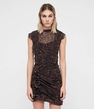 AllSaints Hali Rosey Dress