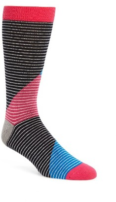 Men's Ted Baker London Canca Stripe Socks $15 thestylecure.com